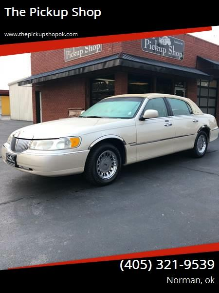2000 Lincoln Town Car Cartier In Norman Ok Carsforsale