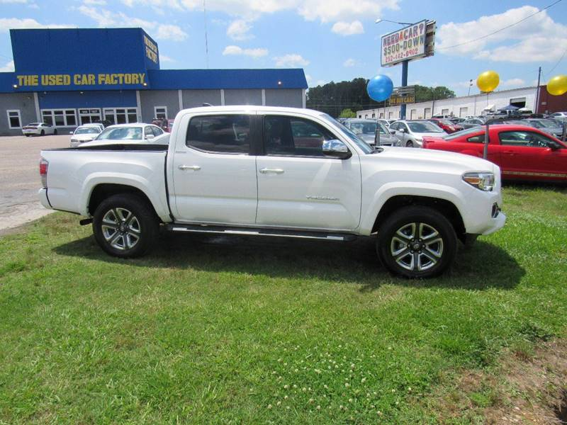2017 Toyota Tacoma 4x2 Limited 4dr Double Cab 5.0 ft SB - Rocky Mount NC