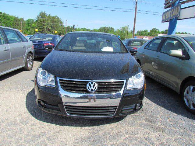 2011 Volkswagen Eos Komfort SULEV 2dr Convertible 6A - Rocky Mount NC