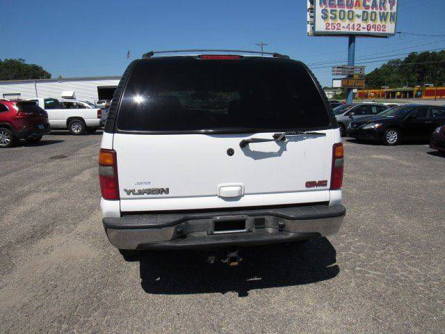2002 GMC Yukon 4dr SLT 4WD SUV - Rocky Mount NC