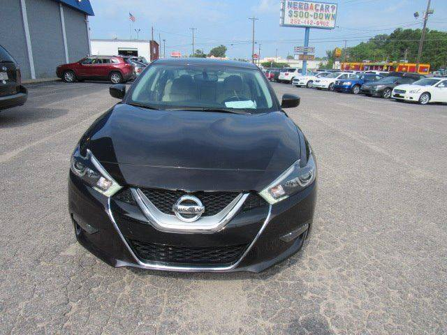2016 nissan maxima 3 5 s 4dr sedan in rocky mount nc the used car factory. Black Bedroom Furniture Sets. Home Design Ideas