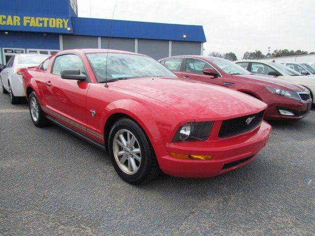 2009 Ford Mustang V6 Deluxe 2dr Coupe - Rocky Mount NC