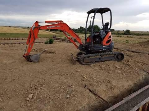 2007 Kubota U25 Mini-excavator