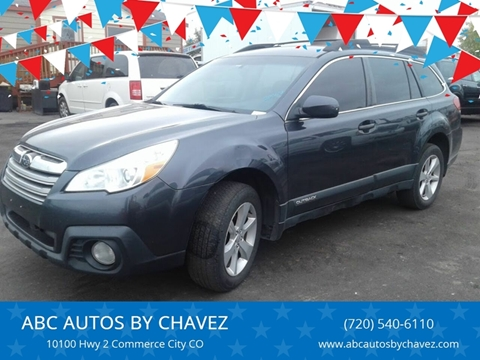 2013 Subaru Outback 2.5i Premium for sale at ABC AUTOS BY CHAVEZ in Commerce City CO