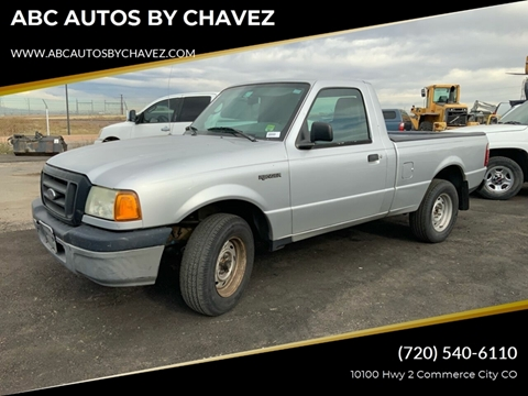 2004 Ford Ranger XL for sale at ABC AUTOS BY CHAVEZ in Commerce City CO