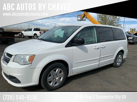 2011 Dodge Grand Caravan Express for sale at ABC AUTOS BY CHAVEZ in Commerce City CO