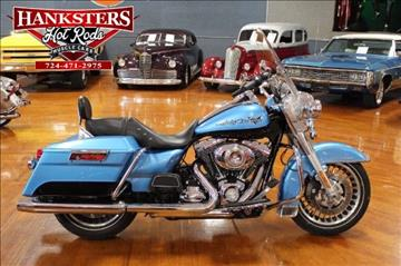 2011 Harley-Davidson Road King for sale in Indiana, PA