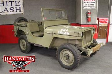 1942 Willys Jeep for sale in Indiana, PA