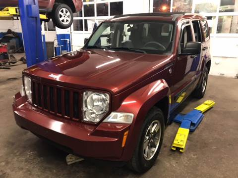 2008 Jeep Liberty for sale at Barga Motors in Tewksbury MA