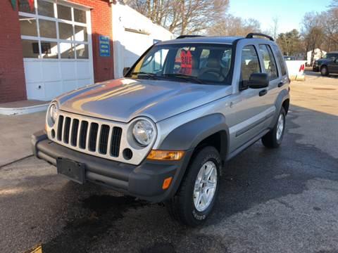 2005 Jeep Liberty for sale at Barga Motors in Tewksbury MA