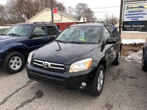 2008 Toyota RAV4 for sale at Barga Motors in Tewksbury MA