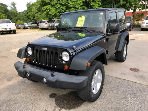 2012 Jeep Wrangler for sale at Barga Motors in Tewksbury MA
