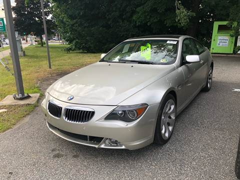 2005 BMW 6 Series for sale at Barga Motors in Tewksbury MA
