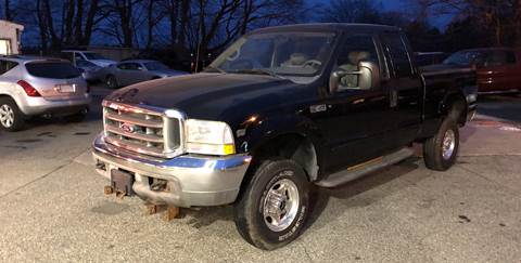 2002 Ford F-250 Super Duty for sale at Barga Motors in Tewksbury MA