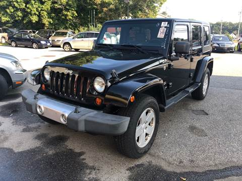 2008 Jeep Wrangler Unlimited for sale at Barga Motors in Tewksbury MA