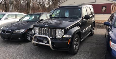 2008 Jeep Liberty for sale at Barga Motors in Tewksbury MA
