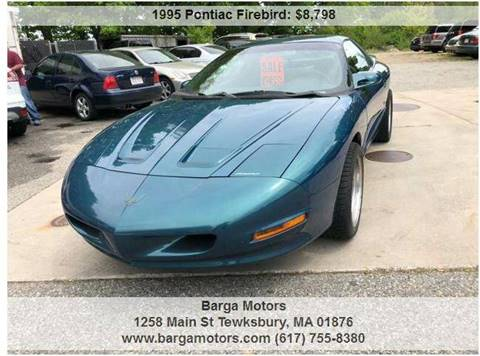 1995 Pontiac Firebird for sale at Barga Motors in Tewksbury MA