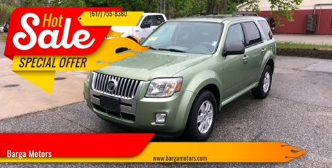 2010 Mercury Mariner for sale at Barga Motors in Tewksbury MA