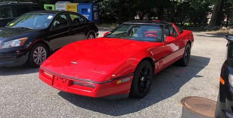 1989 Chevrolet Corvette for sale at Barga Motors in Tewksbury MA
