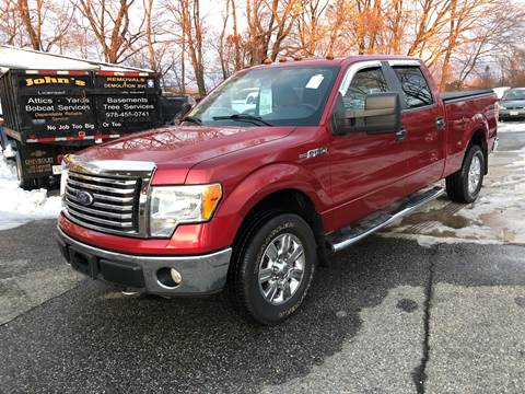 2010 Ford F-150 for sale at Barga Motors in Tewksbury MA