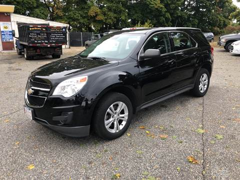 2013 Chevrolet Equinox for sale at Barga Motors in Tewksbury MA