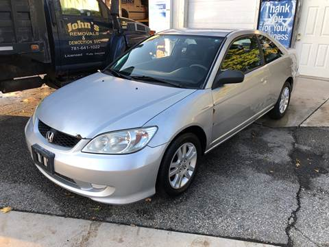 2004 Honda Civic for sale at Barga Motors in Tewksbury MA