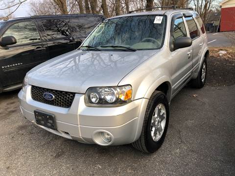 2006 Ford Escape for sale at Barga Motors in Tewksbury MA