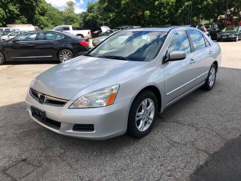 2006 Honda Accord for sale at Barga Motors in Tewksbury MA