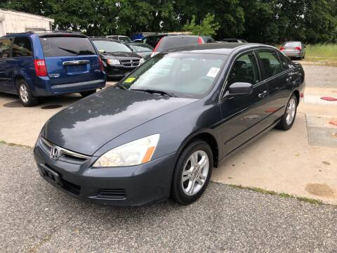 2007 Honda Accord for sale at Barga Motors in Tewksbury MA