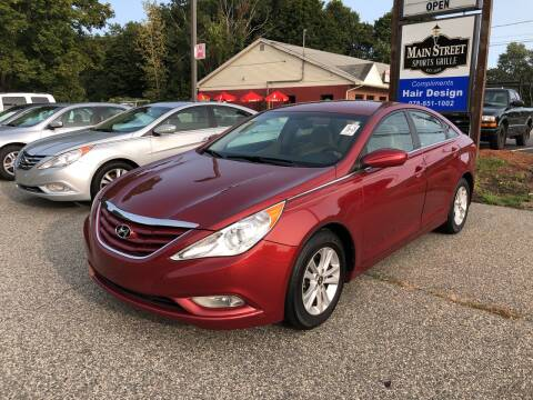 2013 Hyundai Sonata for sale at Barga Motors in Tewksbury MA