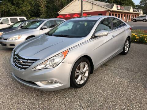 2011 Hyundai Sonata for sale at Barga Motors in Tewksbury MA