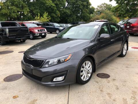 2014 Kia Optima for sale at Barga Motors in Tewksbury MA