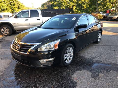 2015 Nissan Altima for sale at Barga Motors in Tewksbury MA