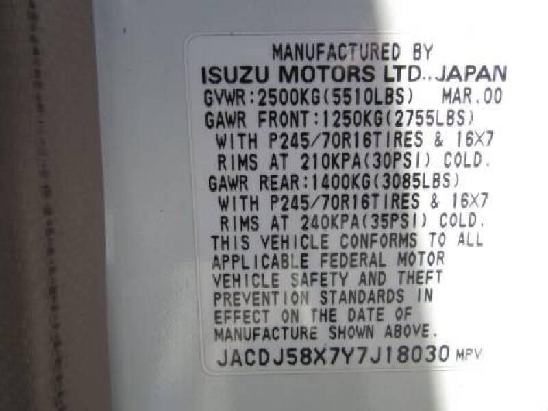 2000 Isuzu Trooper 4dr S 4WD SUV - Linden NJ