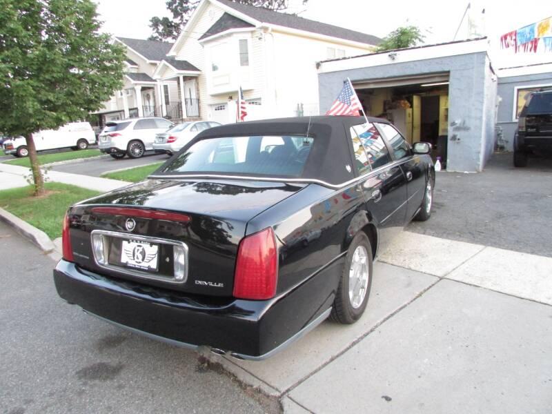 2002 Cadillac DeVille 4dr Sedan - Linden NJ