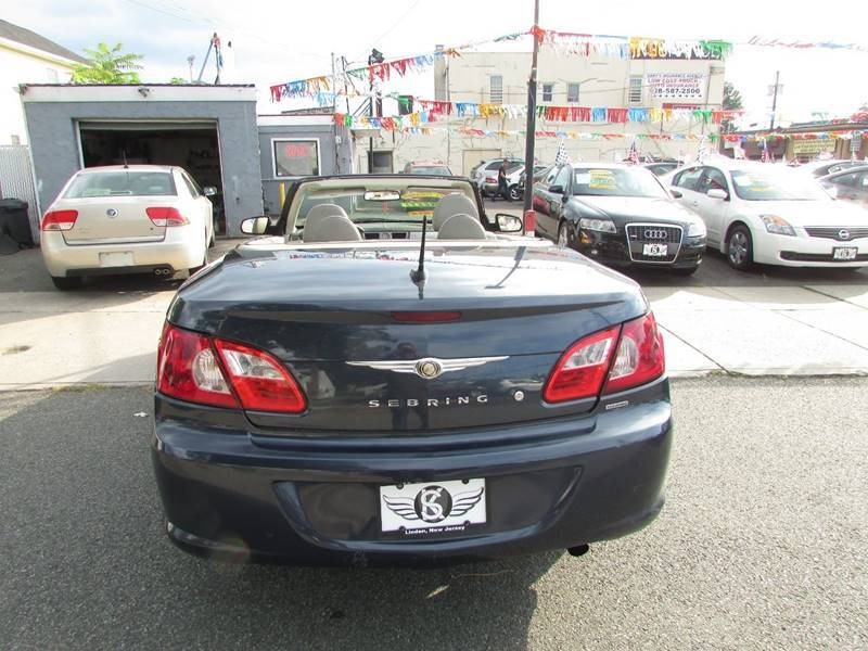 2008 Chrysler Sebring Touring 2dr Convertible - Linden NJ