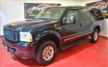 Ford Excursion For Sale  Carsforsalecom