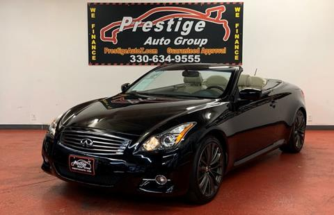 2013 Infiniti G37 Convertible for sale in Tallmadge, OH