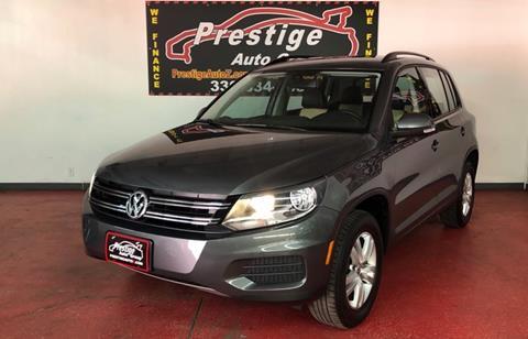 2016 Volkswagen Tiguan for sale in Tallmadge, OH