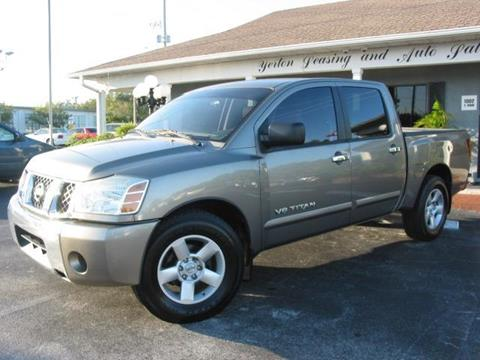 2007 Nissan Titan for sale in Lakeland, FL