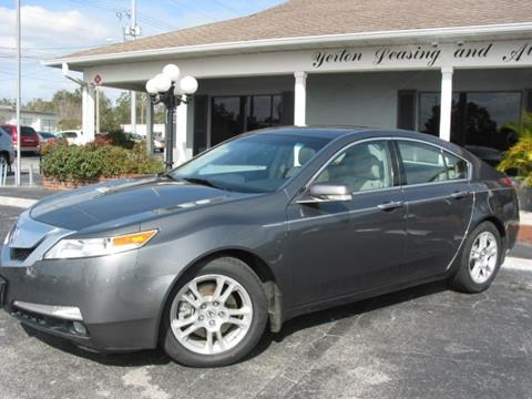 Used 2009 Acura TL For Sale in Lakeland, FL - Carsforsale.com