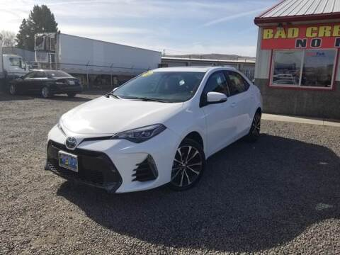 2018 Toyota Corolla for sale at Yaktown Motors in Union Gap WA