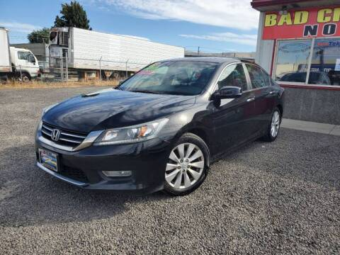 2013 Honda Accord for sale at Yaktown Motors in Union Gap WA