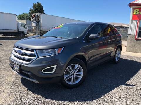 2017 Ford Edge for sale at Yaktown Motors in Union Gap WA