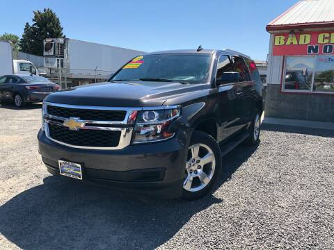 2015 Chevrolet Tahoe for sale at Yaktown Motors in Union Gap WA