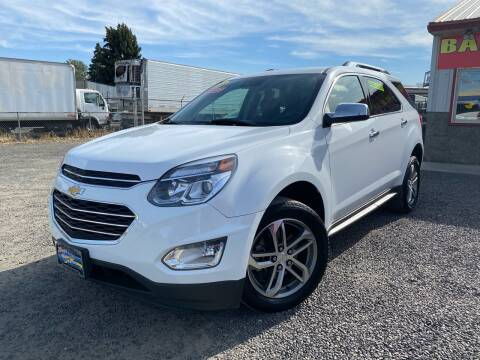 2016 Chevrolet Equinox for sale at Yaktown Motors in Union Gap WA