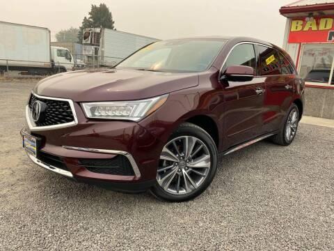 2017 Acura MDX for sale at Yaktown Motors in Union Gap WA