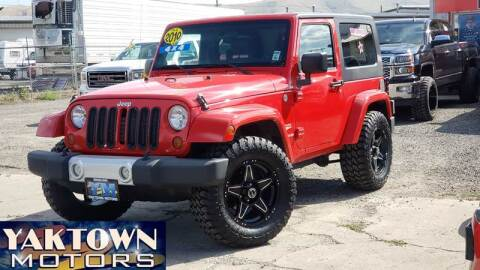 2010 Jeep Wrangler for sale at Yaktown Motors in Union Gap WA
