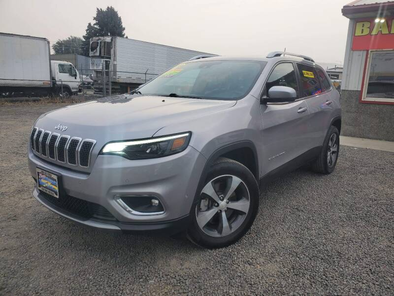 2019 Jeep Cherokee for sale at Yaktown Motors in Union Gap WA