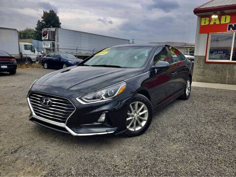 2018 Hyundai Sonata for sale at Yaktown Motors in Union Gap WA